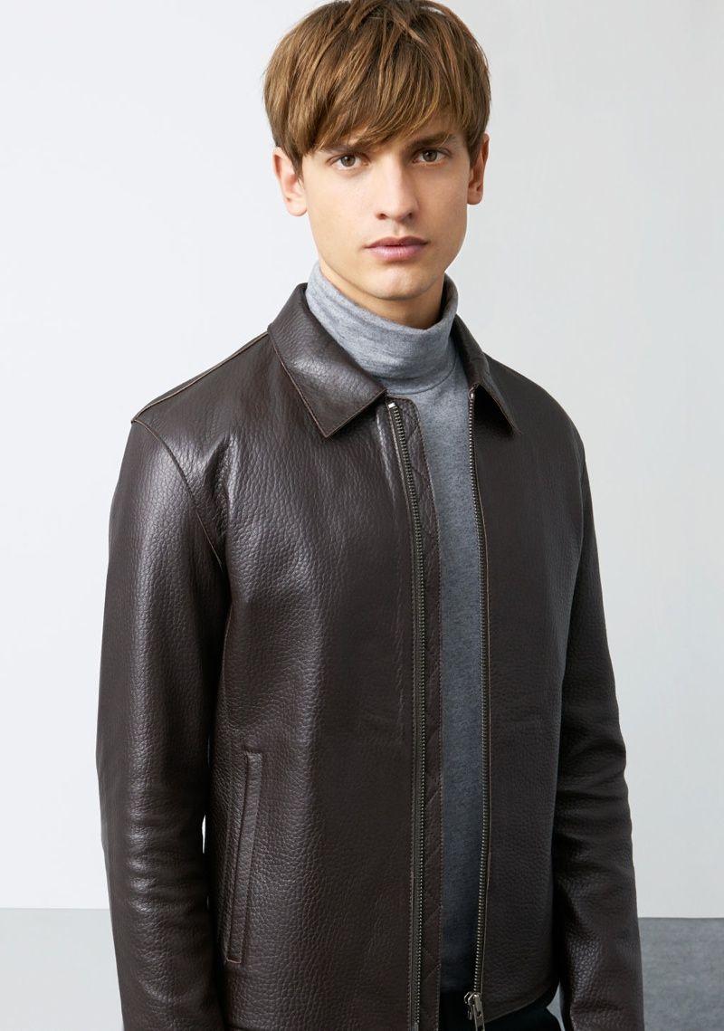 Eddie Klint Stars in Zara's Latest Look Book