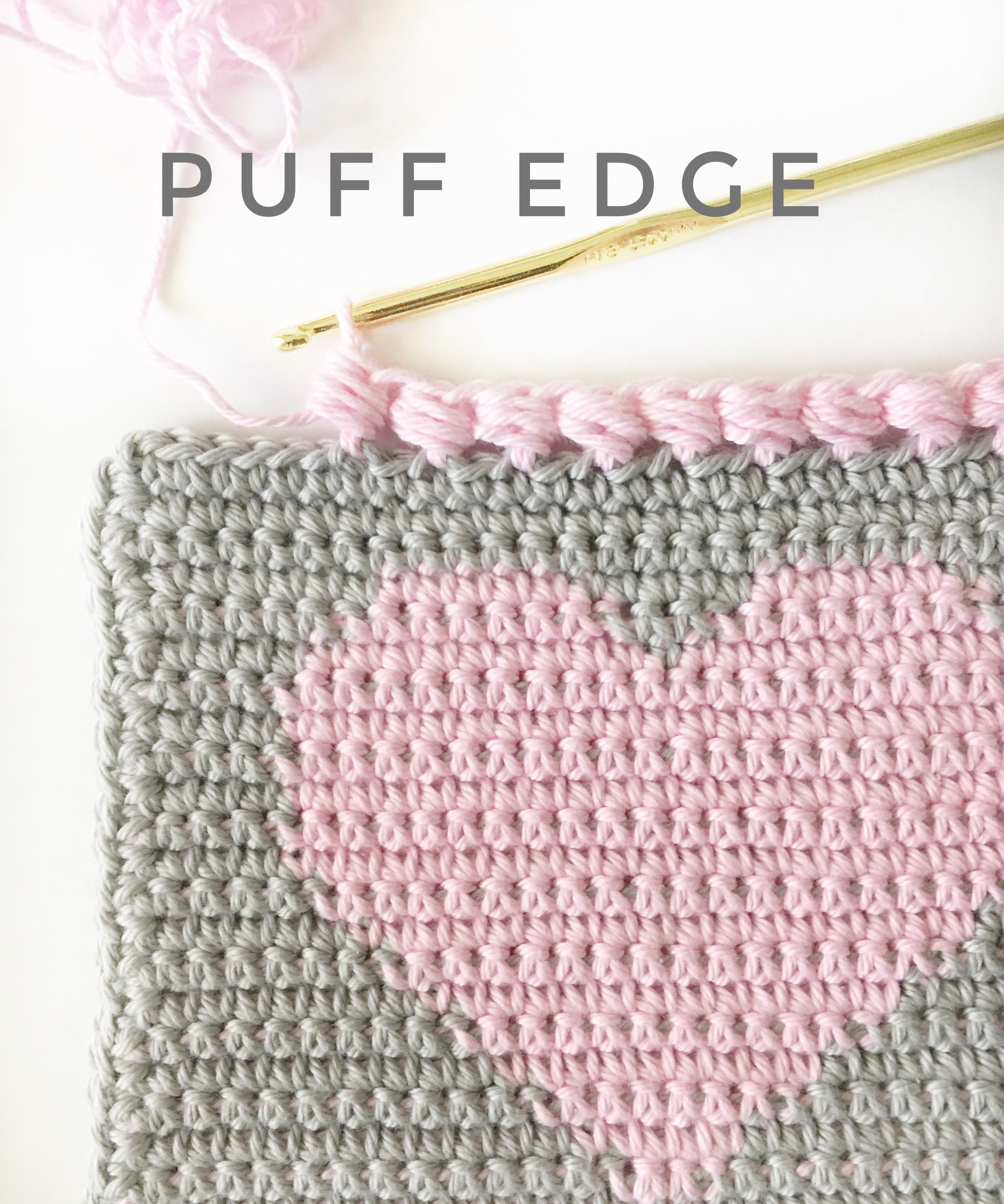 This sweet little edge finishes of a heart project perfectly, don\'t ...