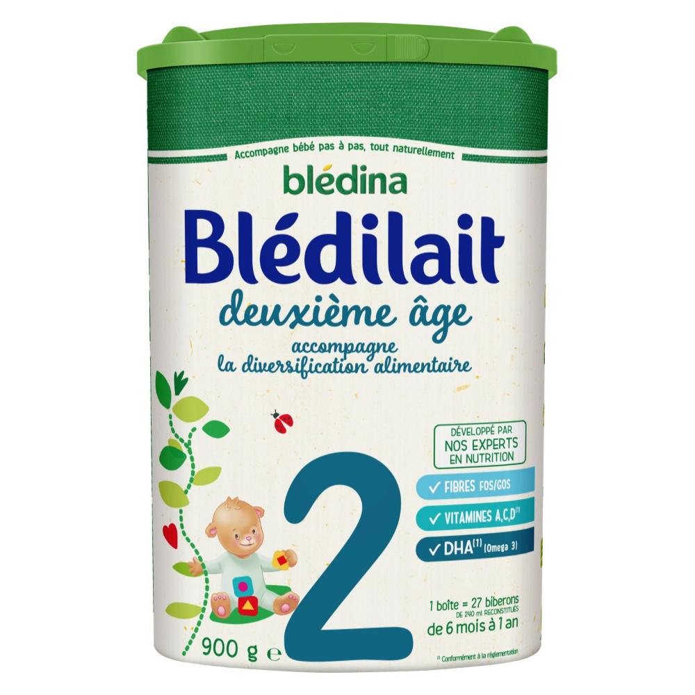 Lait Bebe 2eme Age Bledina Le Pot De 900g A Prix Carrefour Bledina Lait Bebe Bledilait
