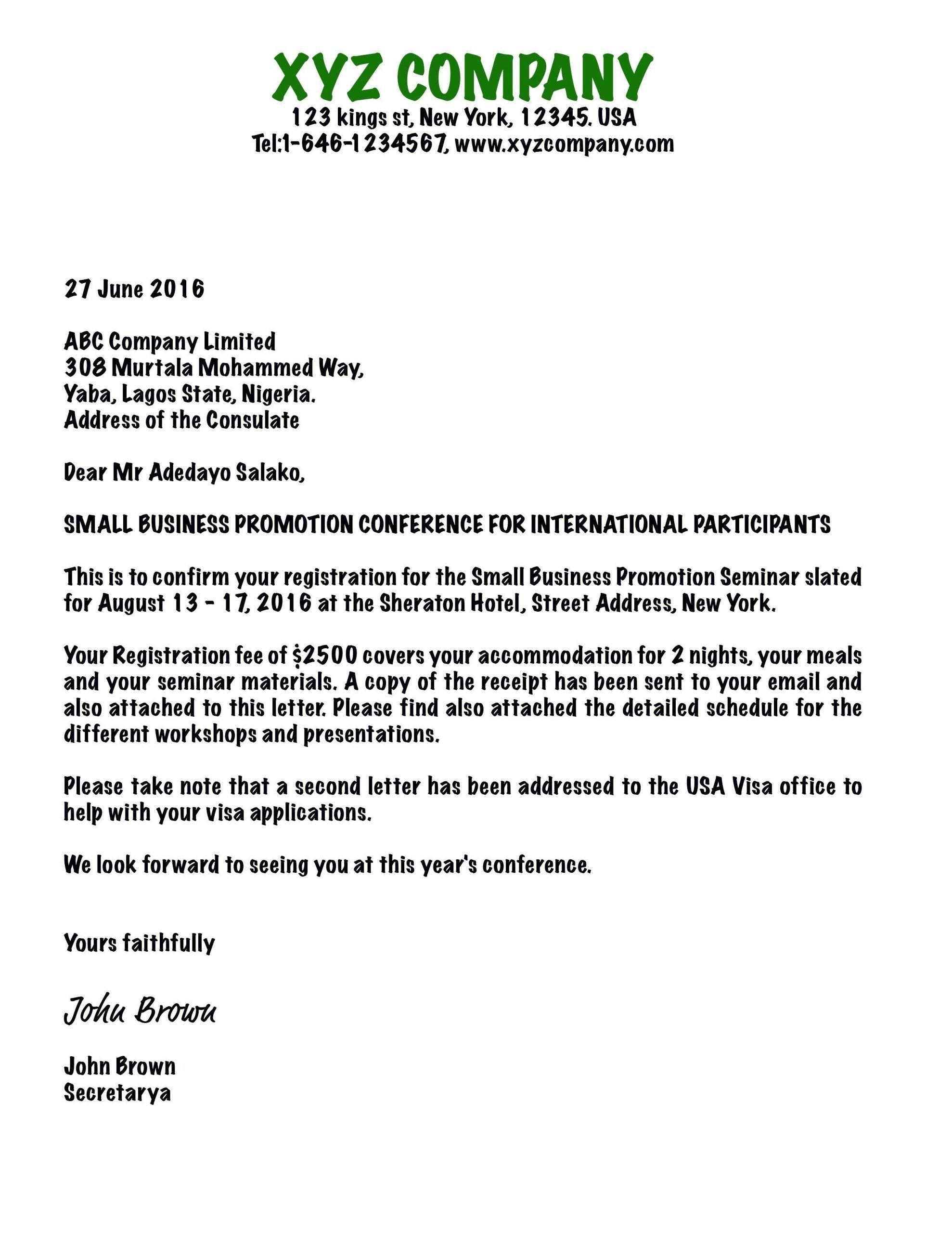 Sample Church Invitation Letter Beautiful Sample