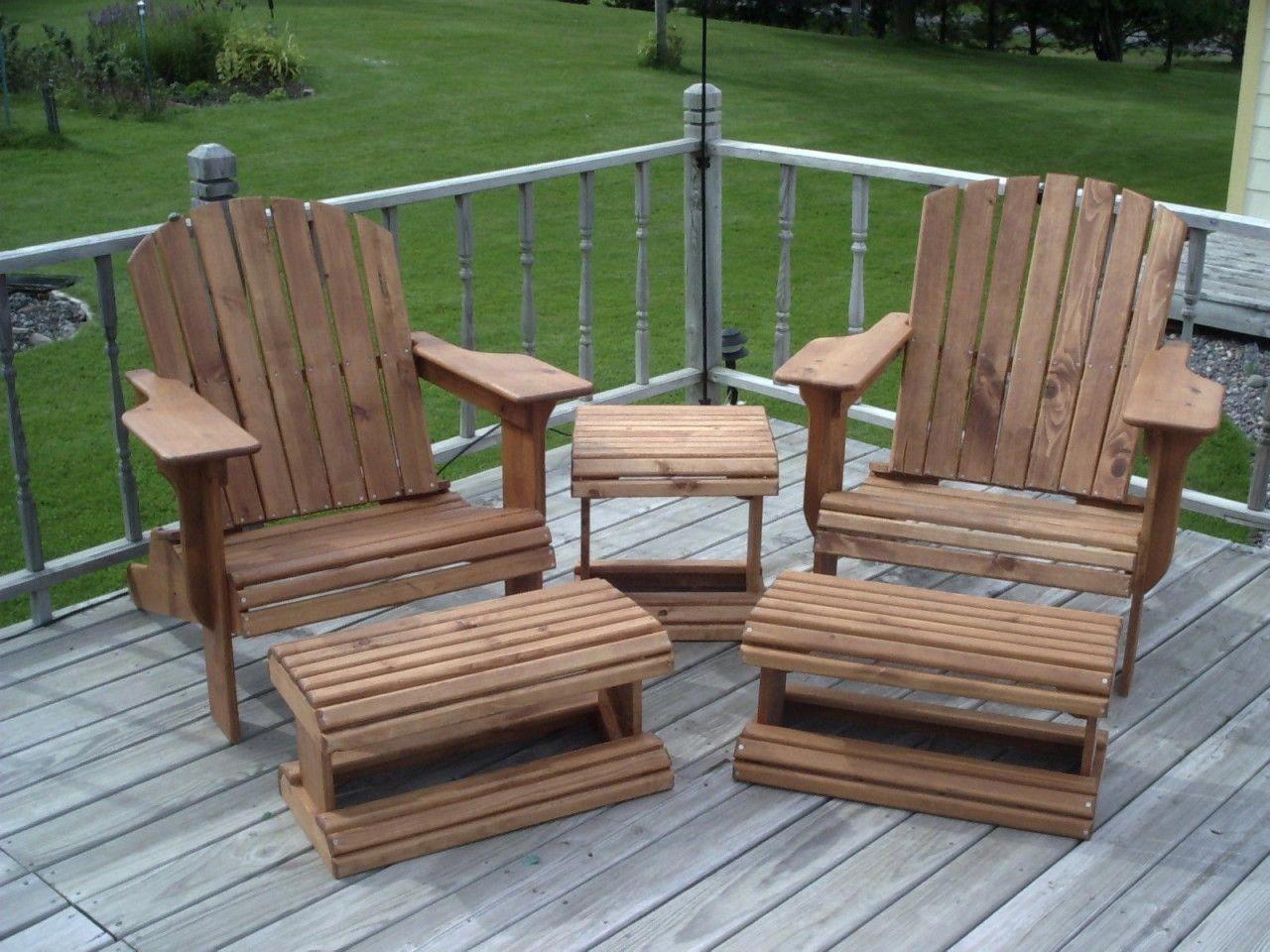 Modern Adirondack Chair Reader S Gallery Fine Woodworking