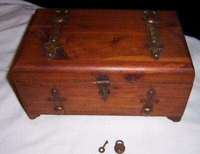 Donald F. Duncan Cedar Dresser Box $25.00