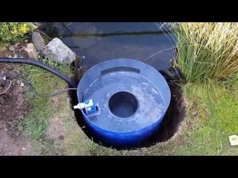 Diy pond skimmer and auto top up youtube aquaponic for Homemade pond skimmer