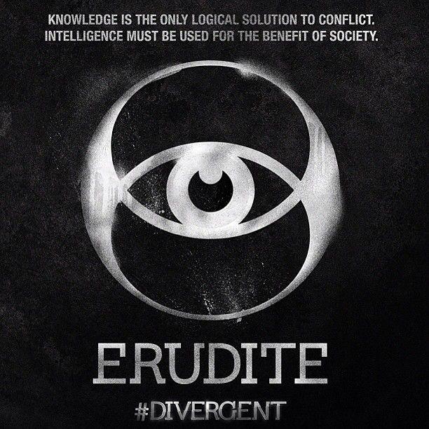 New Divergent Movie Still and Faction Symbols Erudite ...