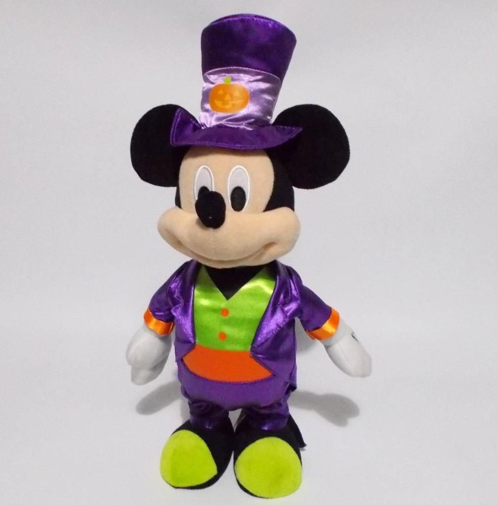 Disney Animated Dancing Mickey Mouse Halloween Plush Video Disney Mickey Mouse Mickey Mouse Halloween Mickey