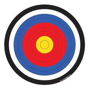 photo about Printable Archery Targets identify Pin upon goals