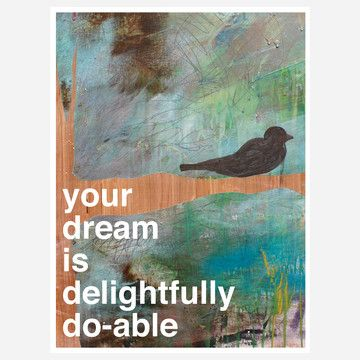 Dream Print, $27, now featured on Fab.