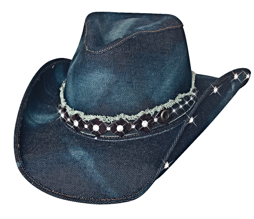 Bullhide 2792 Better Than Yesterday Is A Denim Hat With A Pinchfront Crown And A Denim Fringed Band And Rhinestone C Cowboy Hats Cowgirl Hats Cowboy Hats Women Available in png and vector. pinterest