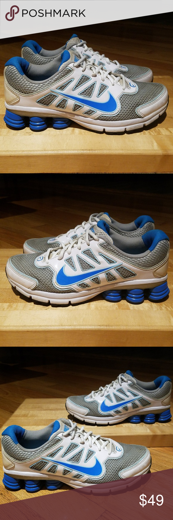new style 059fe 14e94 ... promo code for nike shox qualify 2 womens running shoes sz 10 b966b  ec5db