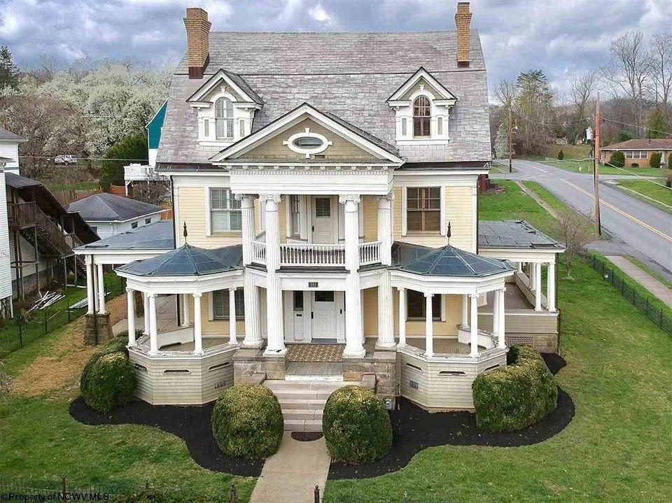 1900 Mansion For Sale In Fairmont West Virginia — Captivating Houses #westvirginia