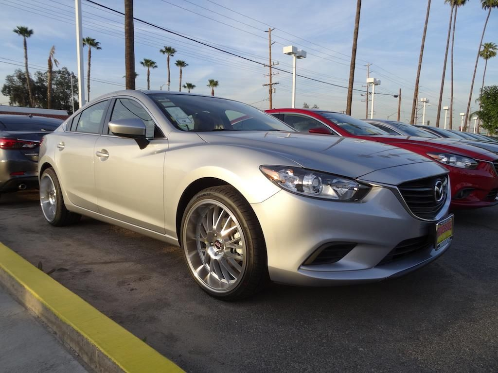 Silver 2016 Mazda Mazda6 Sport Zoom Zoom Package by