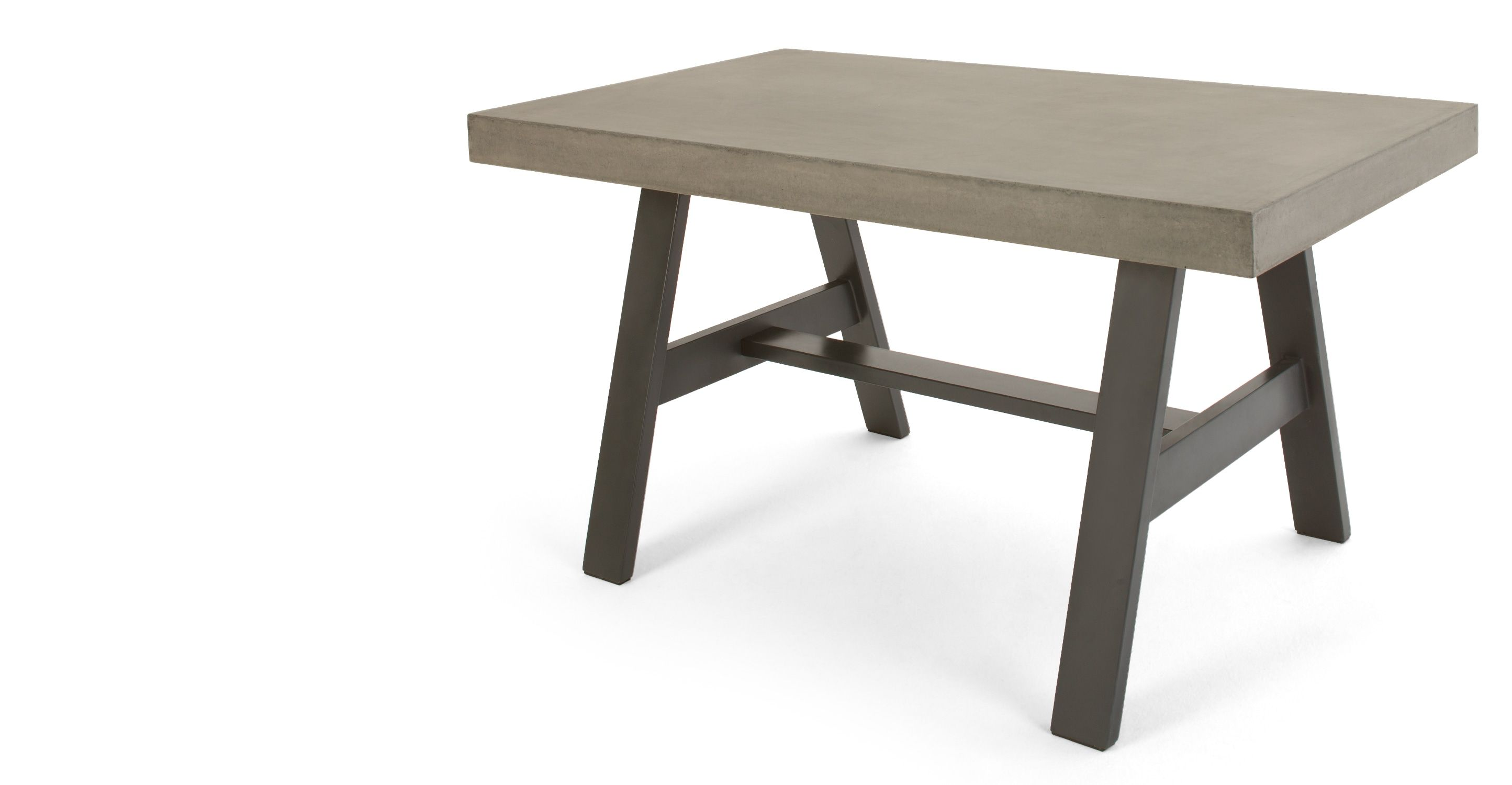 Edson Gartentisch, Beton und Metall - MADE.COM Jetzt bestellen unter ...