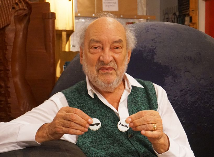 interview with gaetano pesce at his studio in new york