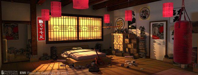 Noodle S Room Kong Gorillaz Gorillaz Noodle Room