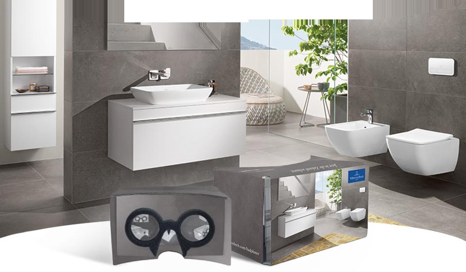 Badezimmerplaner Kostenlos ~ Villeroy & boch vr cardboard für badplaner augmented & virtual