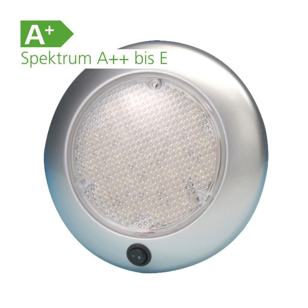 Led 12 Volt Deckenleuchte Dome 4041431099887 Campingzubehor Led 12 Volt Deckenleuchte Dome Kunststoff Silber Spritzw Led Camping Zubehor Camping