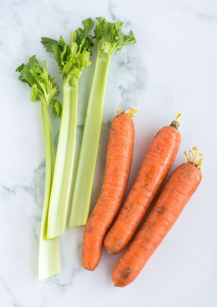 Homemade slow cooker vegetable stock recipe with images