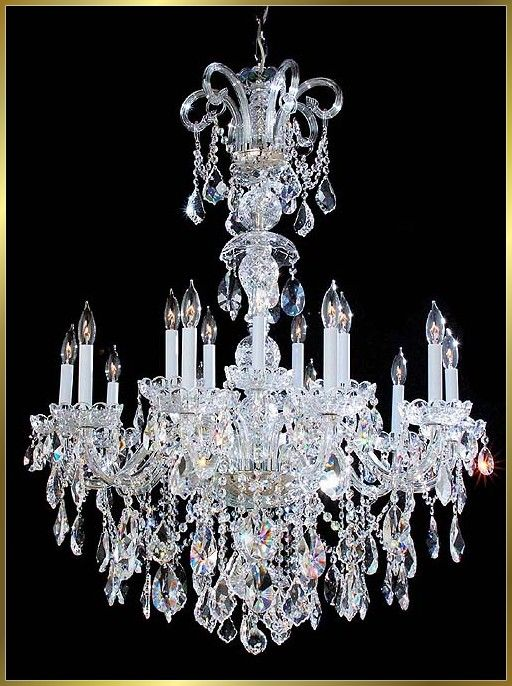 I Love Crystal Chandeliers One For The Bathroom One For The Entry One For The Kitchen Traditional Chandelier Chandelier Beautiful Chandelier