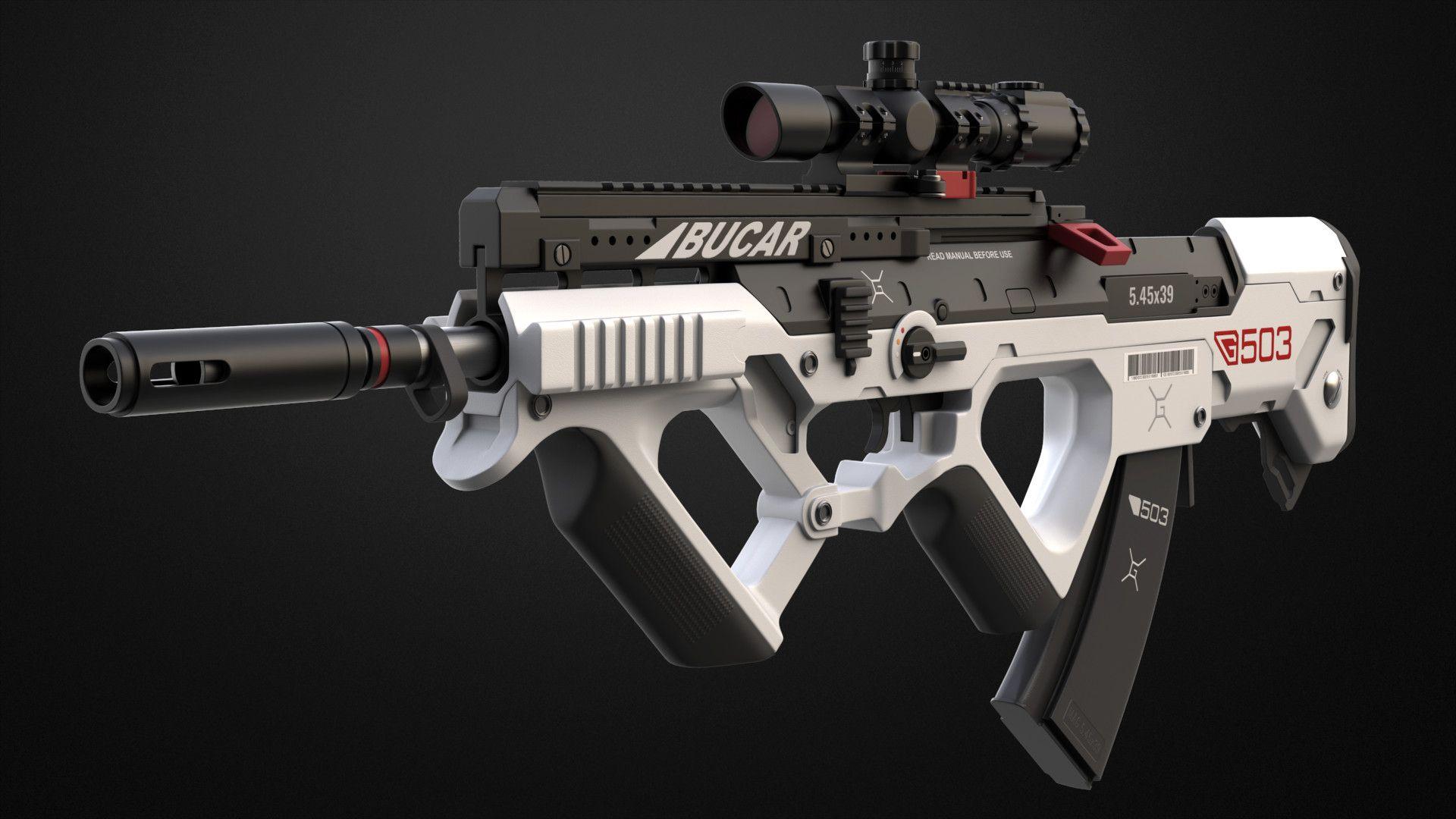Compact Assault Rifle, Petteri Torvinen