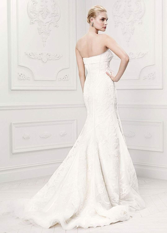 David S Bridal Sample As Is Satin Details Tulle Mermaid Wedding Dress Style Ai34010021 Davids Bridal Wedding Dresses Wedding Dress Styles Wedding Dresses [ 1500 x 1077 Pixel ]