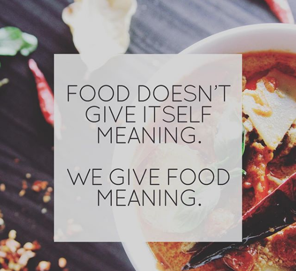 Food Meaning, Food, Meant To Be