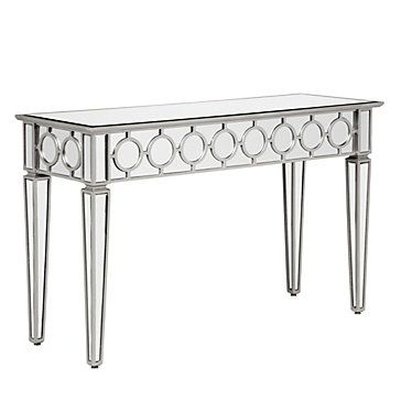 Sophie Mirrored Console Table Mirrored Furniture Console Table