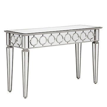 Mirrored Console Table Contemporary Classy Z Gallerie Mirrored Console Table Mirrored Furniture Console Table