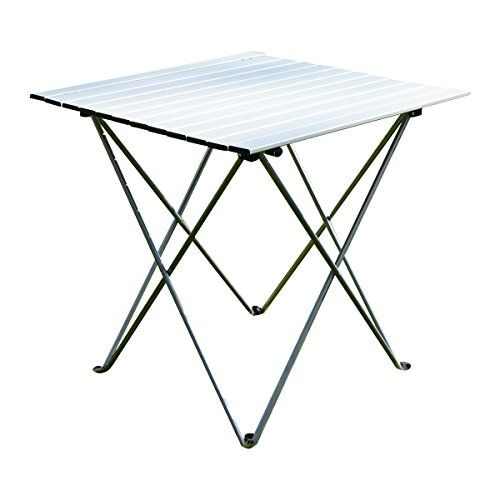 Camping Tables   Giantex Aluminum Roll Up Table Folding Camping Outdoor  Indoor Picnic W Bag Heavy