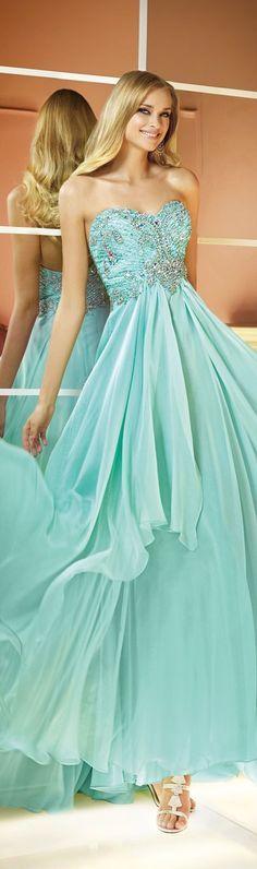 un vestido para 15 color verde agua: | vestidos | pinterest