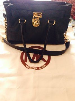 Michael Kors Hamilton Black Bag - Satchel $150