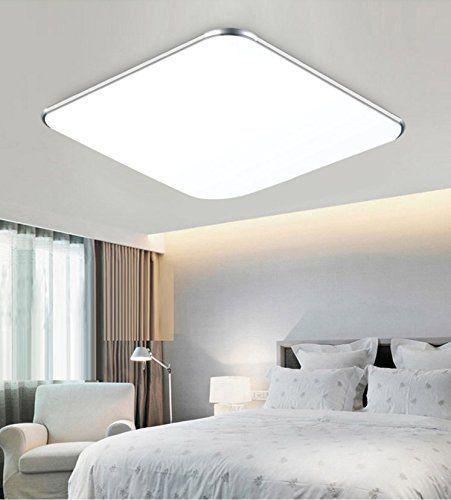 SAILUN 18W Kaltweiß Ultraslim LED Deckenleuchte Modern Deckenlampe ...