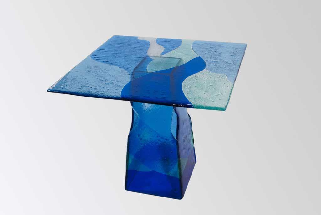 Tavoli in vetro Cornici Piatti Oggetti Design