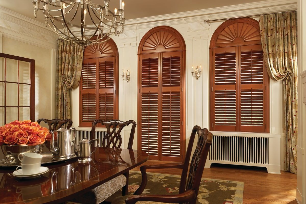 Install these grand NewStyle® Hardwood shutters in your