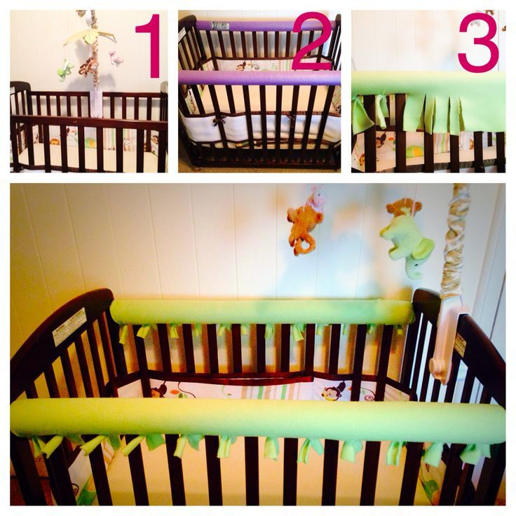 DIY Crib Rail Saver No More Gnawing On Paint Or Leaving Marks