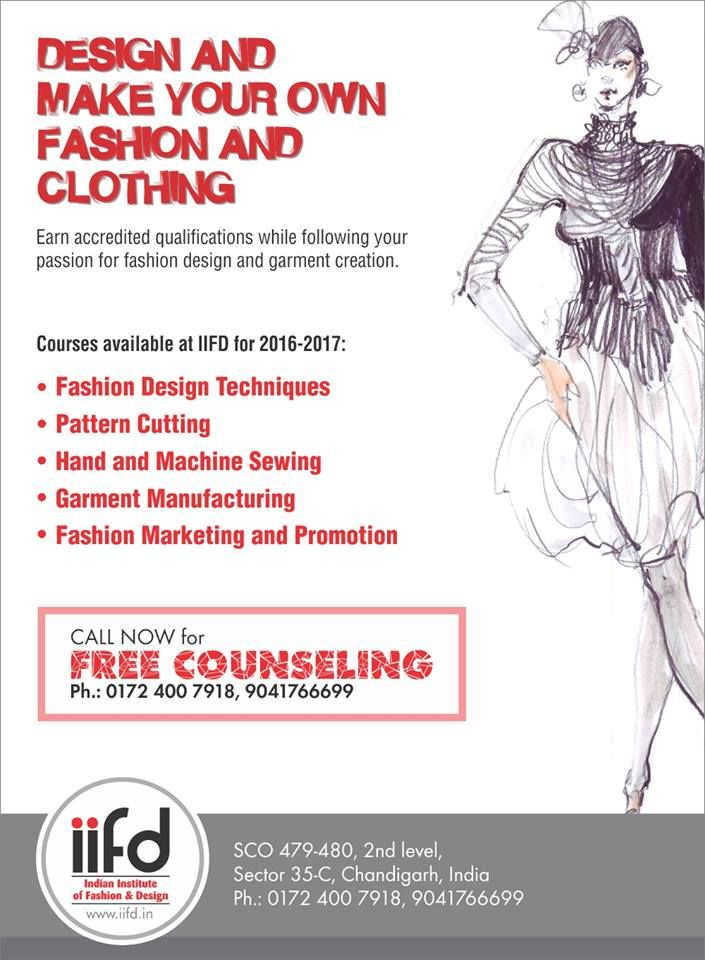 Make Your Fashion And Clothing Join The Best Fashion Institute In Chandigarh For Admiss Fashion Designing Institute Fashion Design Fashion Designing Course