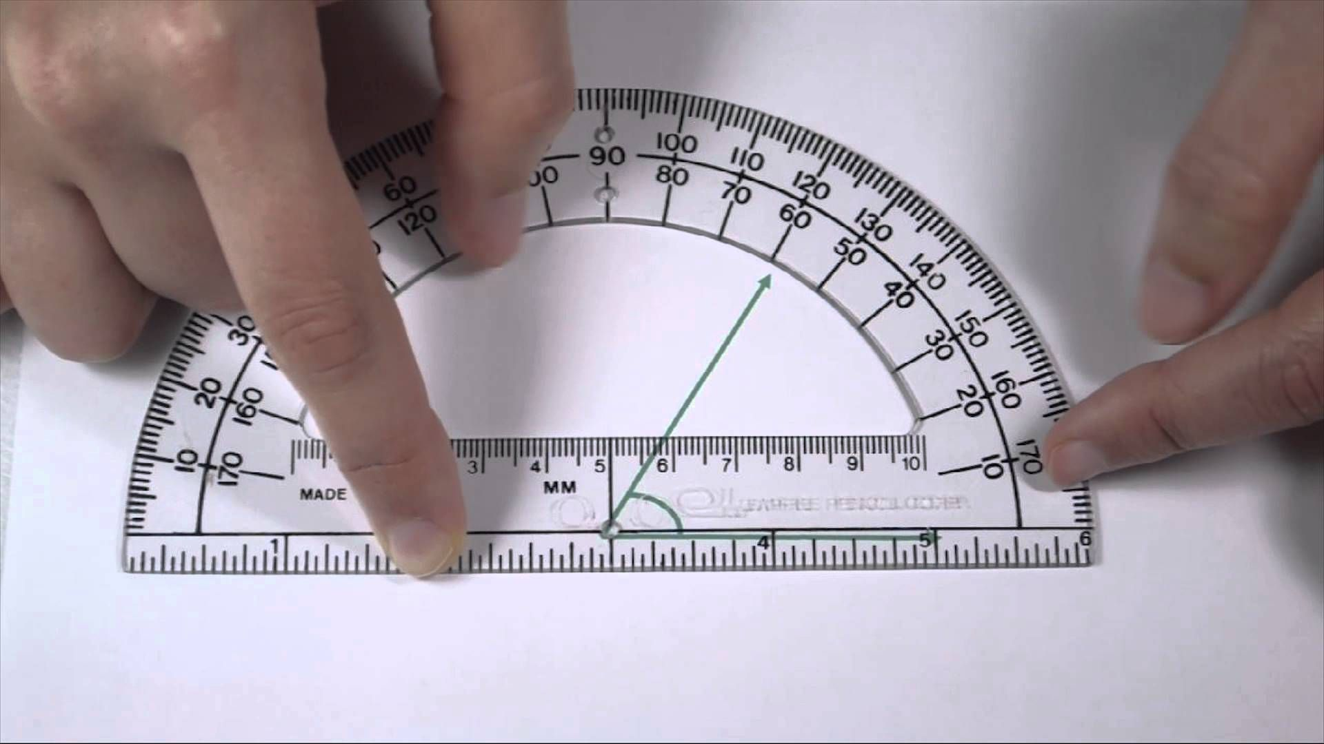 Angles Part 2 Measuring Angles With A Protractor Measuring Angles Protractor Math Tutorials