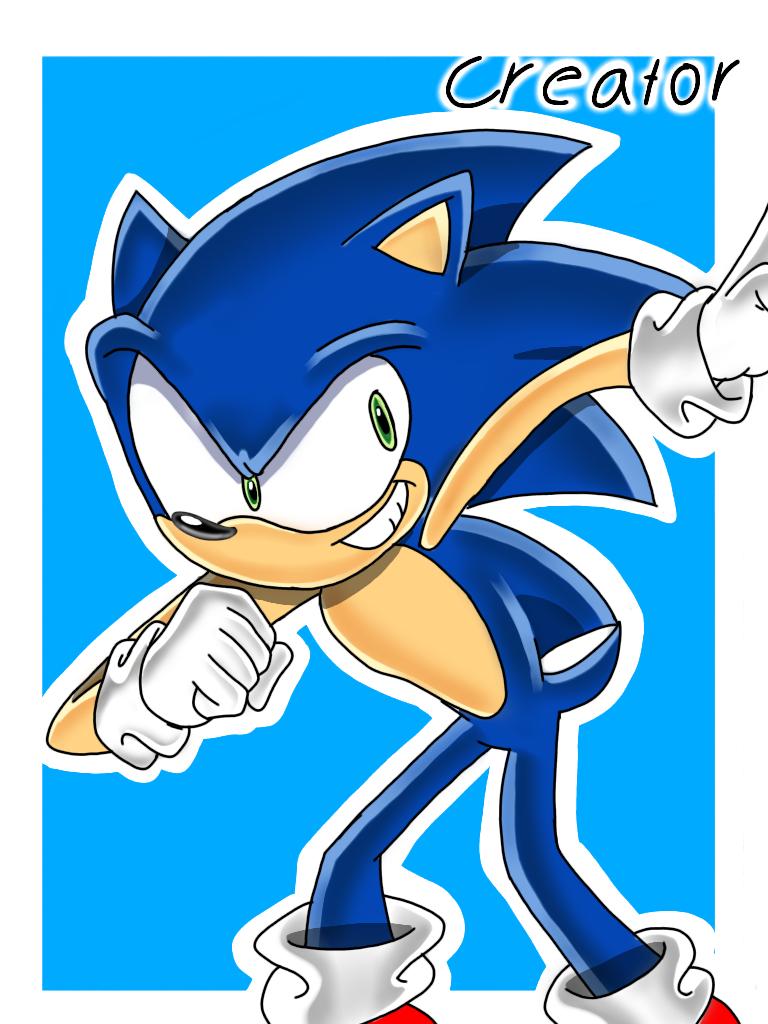 Sonic The Hedgehog Fanart Reuploaded By Elcreatordraws On Deviantart Sonic The Hedgehog Fan Art