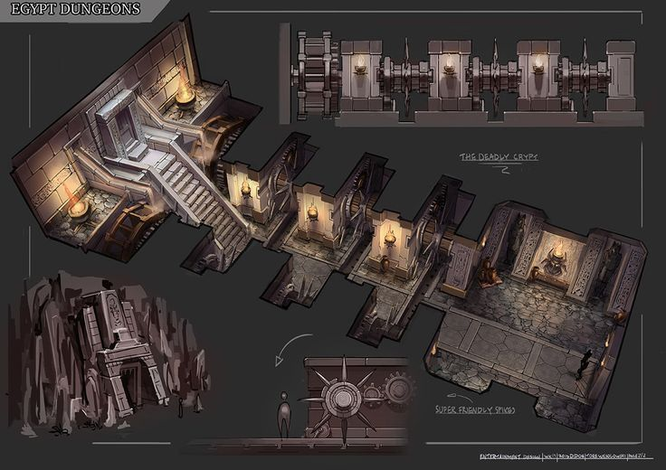 egyptian tomb game designs - Google Search | Dungeon | Pinterest ...