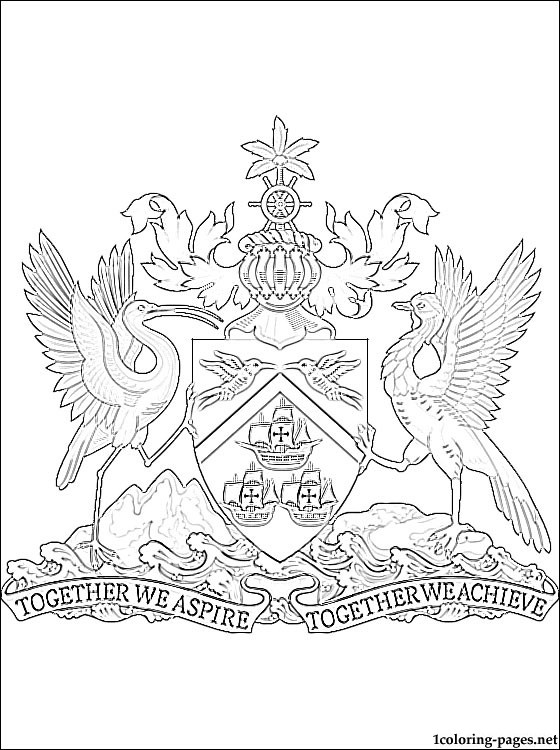 35++ Nunavut coat of arms coloring page download HD