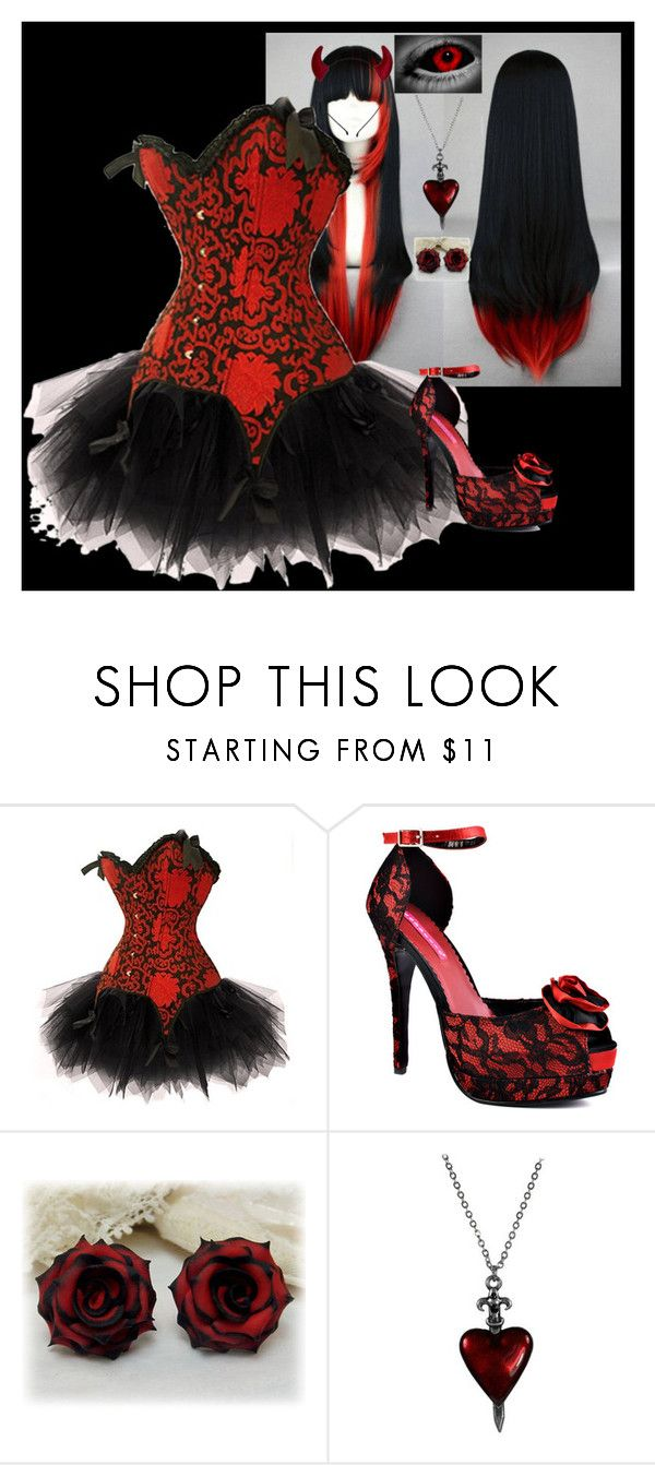 """Oct. 30th"" by i-am-not-an-angel ❤ liked on Polyvore featuring Viva Bordello"