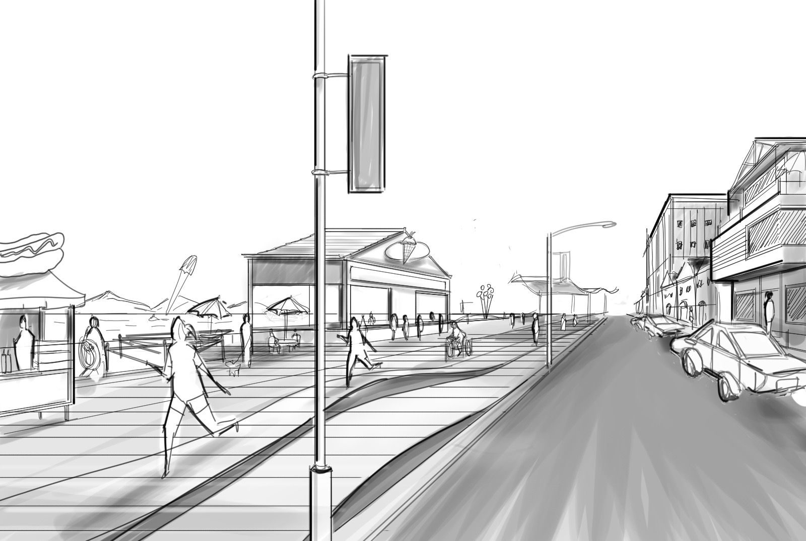 Perspective Guides: How to Draw Architectural Street Scenes — A ...