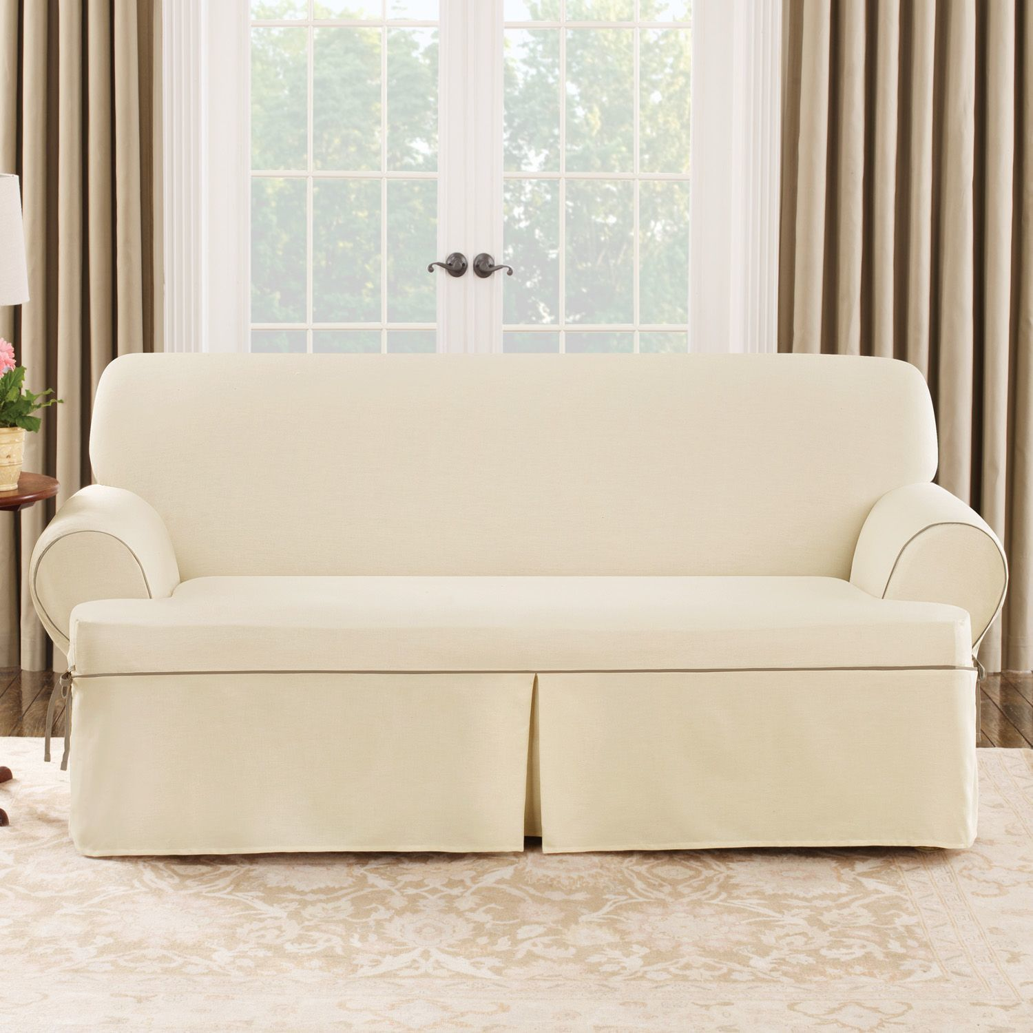 Found It At Wayfair Twill T Sofa Slipcover Furniture