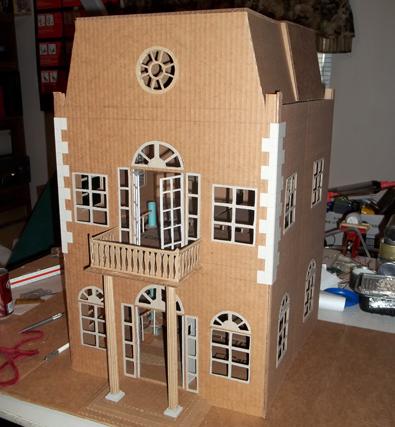 Pin By Mounim On 0 Barbie Doll House Cardboard Dollhouse Diy Dollhouse