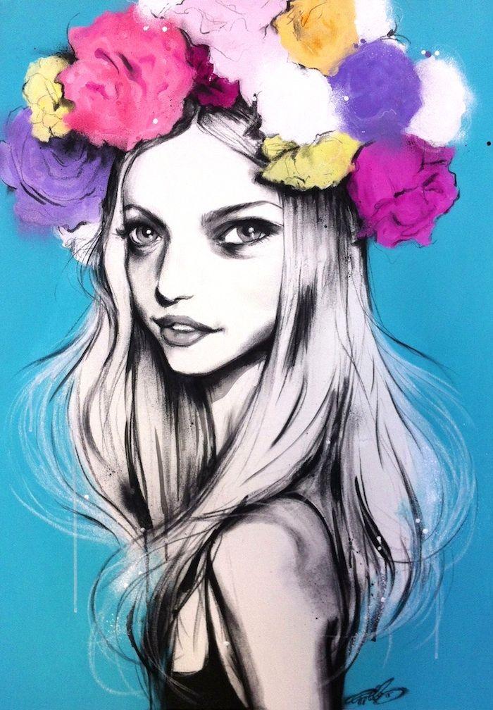 'Gemma's Flowers' by Pippa McManus www.facebook.com/pippamcmanusillustration COPYRIGHT © of Pippa McManus