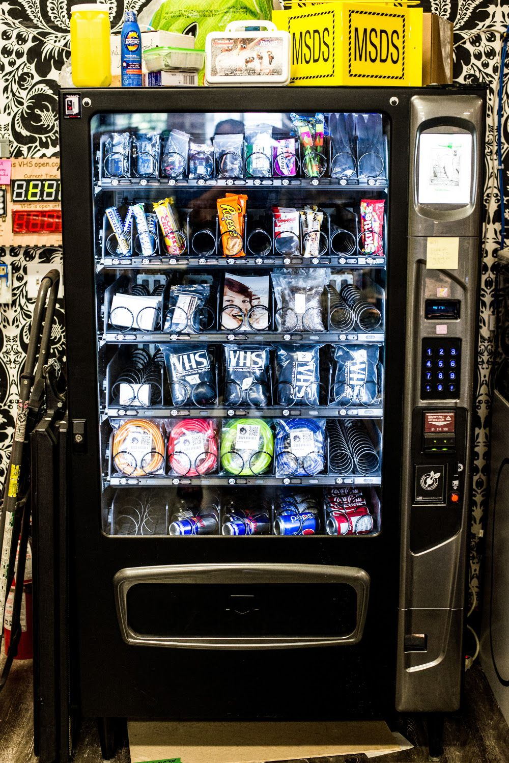 Vending Machine Hack Code Any - Year of Clean Water