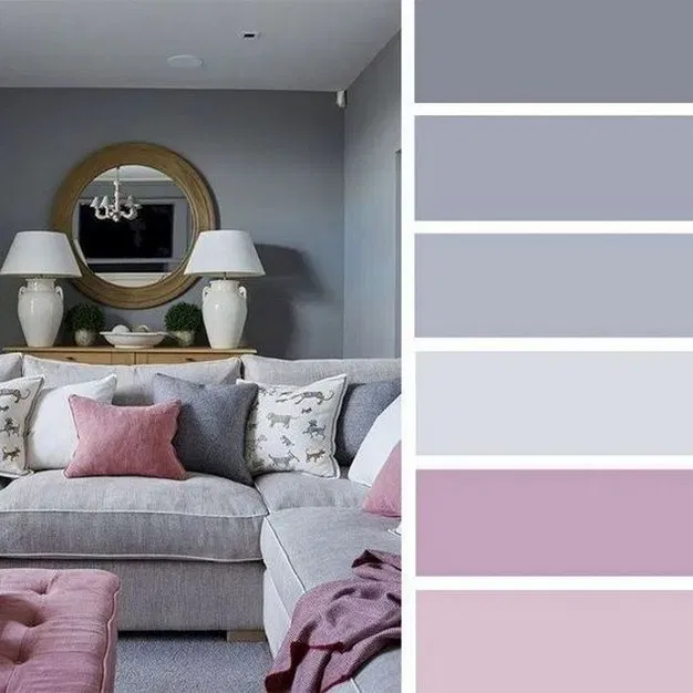 14 beautiful living room color ideas you'll love 7 #livingroomcolorschemeideas