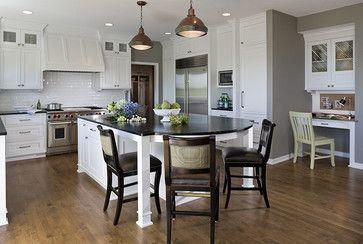 Houzz Kitchen Islands | Traditional Kitchen design by ...