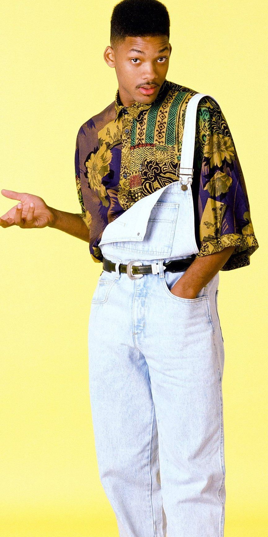 He Can Still Rock A Fresh Pair Of Overalls And Printed
