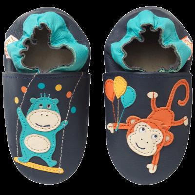 f9783f46443de chaussons-bebe-cuir-souple-les-acrobates-face