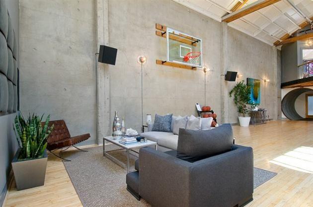 Put A Basketball Court In It Loft Inspiration Loft Spaces Luxury Loft